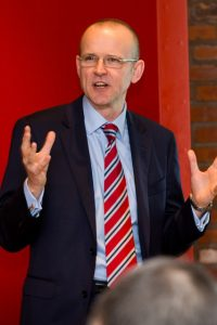 Richard Harrison - speaking at K-Club breakfast Liverpool Mar 15