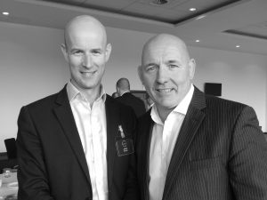 James Evans & John Russell - Speakers at K-Club breakfast 6.7.17