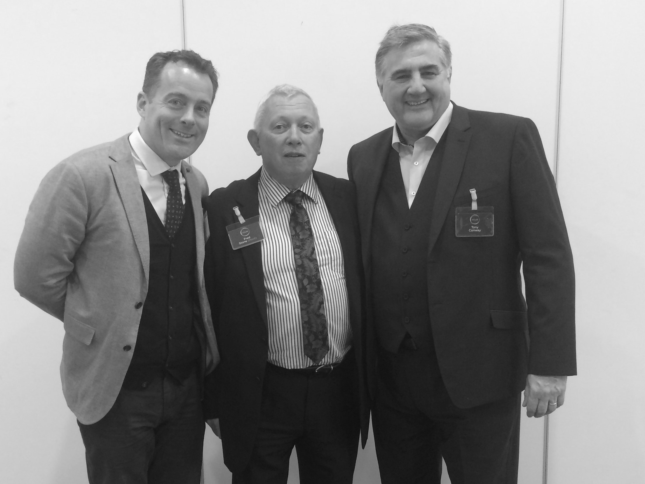 K-Club Breakfast 21.9.17 (l-r) Nick Bianchi, Fred Stone, Tony Conway.