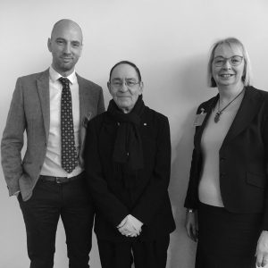 K-Club breakfast 31.1.19 (L-R, Richard Newman, Sir Howard Bernstein, Sue Weighell) - Copy